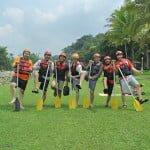 Gathering RECTmedia di Progo Rafting Magelang
